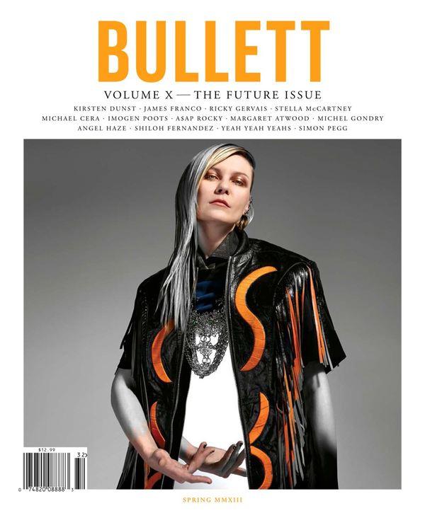 Kirsten Dunst na okładce Bullett Magazine