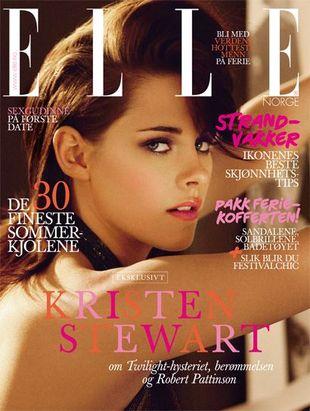 Kristen Stewart w stylu retro