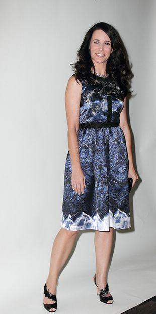 Kristin Davis również ubiera się u Prady