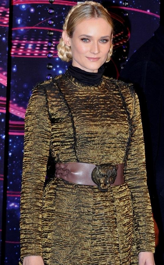 Diane Kruger w sukience Lanvin