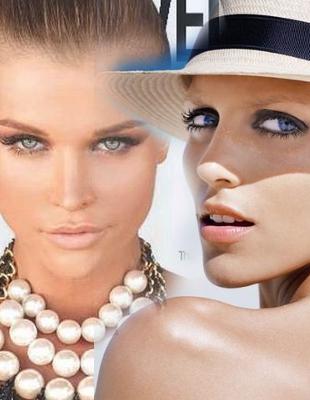 Anja Rubik i Joanna Krupa w Top Model