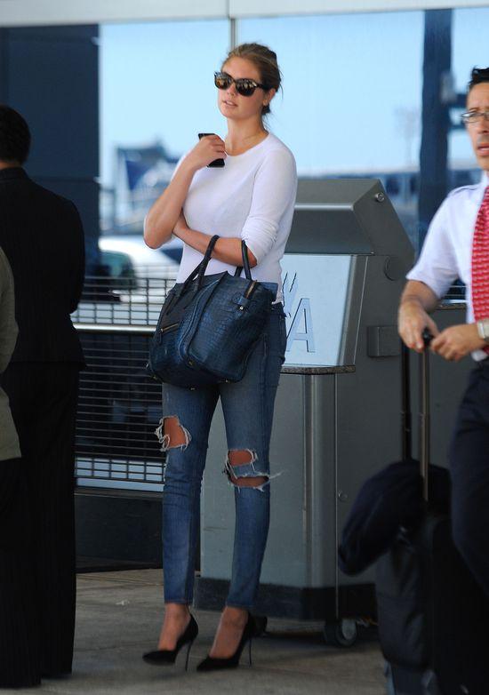 Kate Upton w jeansach Rag&Bone (FOTO)