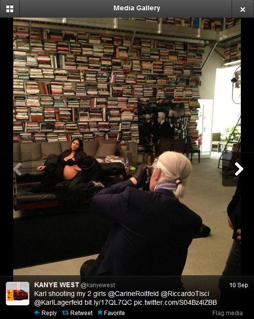 Backstage sesji Kim Kardashian dla CR Fashion Book (VIDEO)