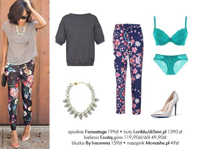 Modne latem - 5 stylizacji z ubraniami w kwiaty