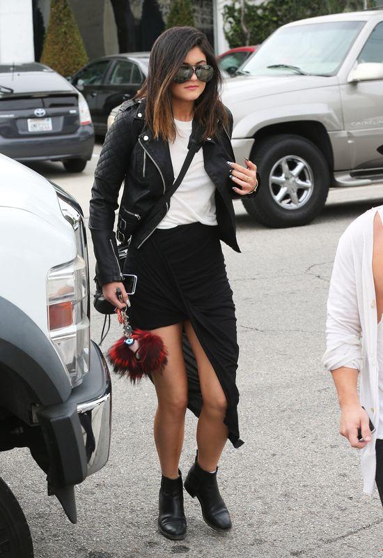Rockowy szyk w wydaniu Kylie Jenner (FOTO)