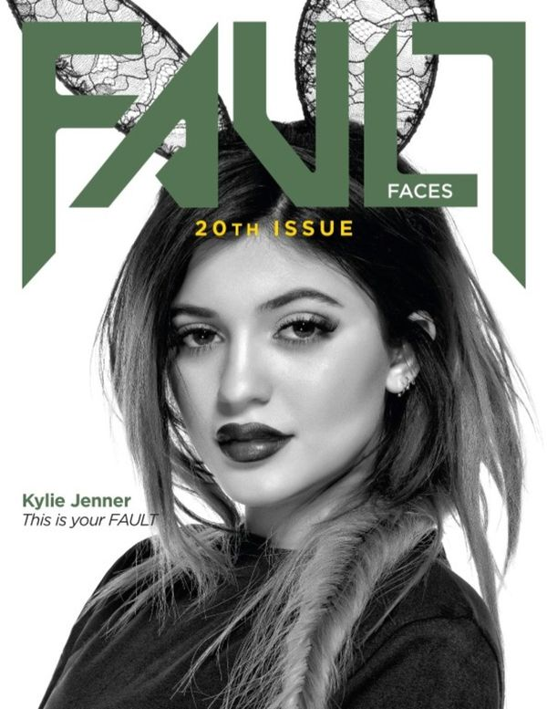 Kylie Jenner na trzech okładkach Fault Magazine (FOTO)