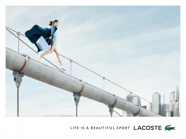 Niebezpieczna kampania Lacoste wiosna 2014... (FOTO)
