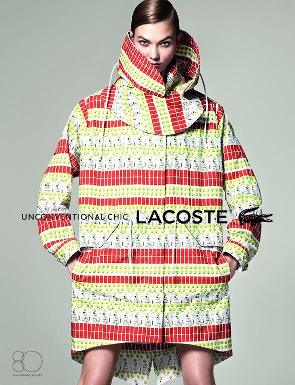 Karlie Kloss w kampanii Lacoste