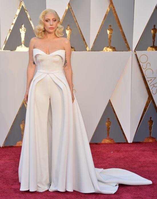 Oscary 2016 - Lady Gaga nigdy nie wyglądała tak dobrze