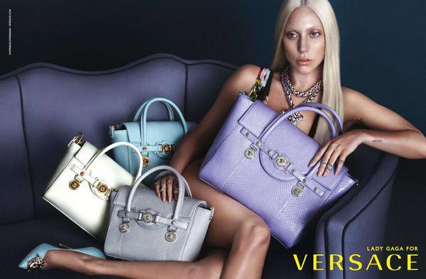 Lady Gaga ponownie dla Versace (FOTO)