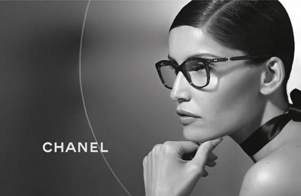 Laetitia Casta w kampanii Chanel Eyewear
