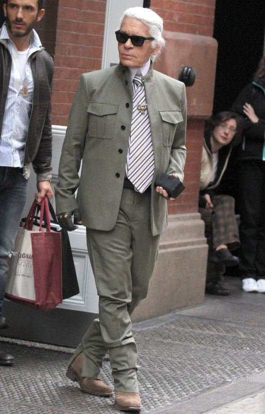 Karl Lagerfeld pozwany przez otyłych (FOTO)