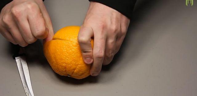 DIY - Jak najprościej zrobić lampkę z pomarańczy (VIDEO)