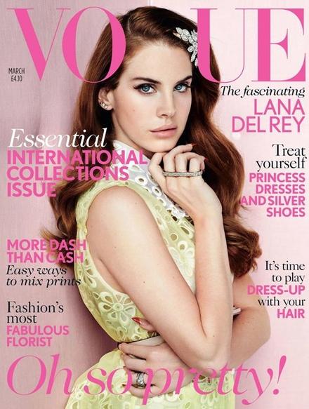 Lana Del Rey na kolejnej okładce Vogue (FOTO)