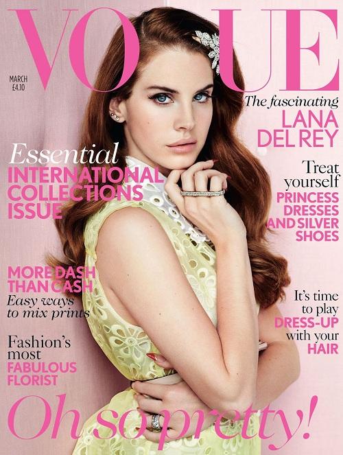 Lana Del Rey jako współczesna Ewa na okładce Numero Tokyo