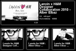 Lanvin for H&M  - nowe video!