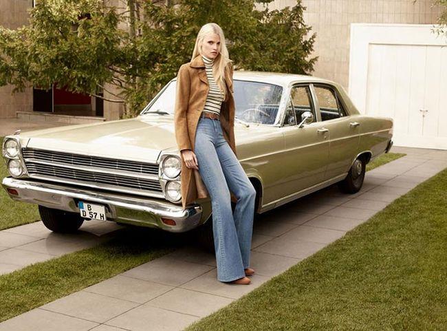 Lara Stone w jesiennej kampanii H&M (FOTO)