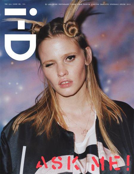 4 wiosenne okładki i-D Magazine
