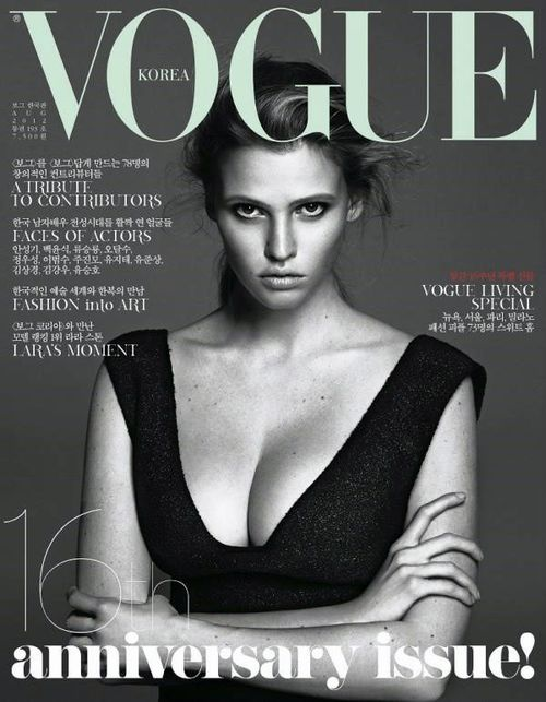 Lara Stone nową twarzą L'Oréal Paris!