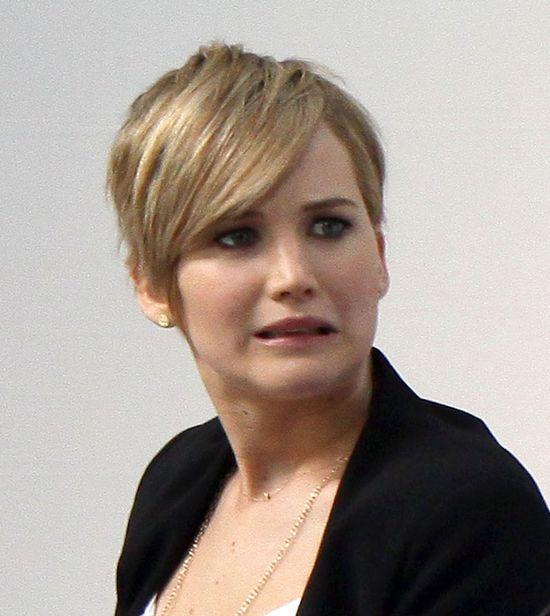 Jennifer Lawrence ścięła włosy (FOTO)