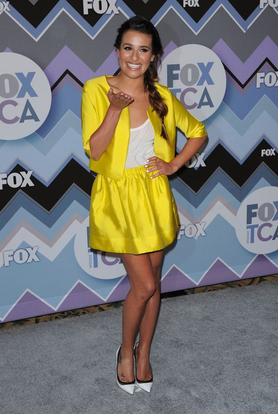 Lea Michele nie boi się koloru (FOTO)