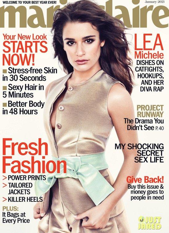 Lea Michele w Marie Claire