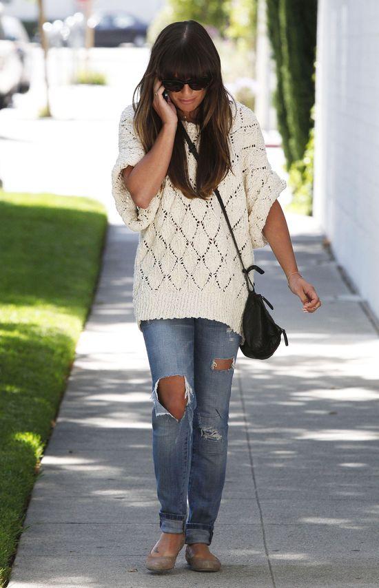 Lea Michele wróciła do grzywki