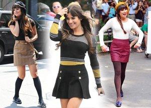 Pierwsze stylizacje Lei Michele z nowego sezonu Glee