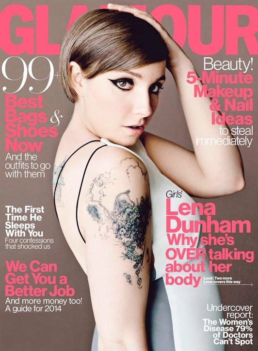 Lena Dunham gwiazdą Glamour (FOTO)