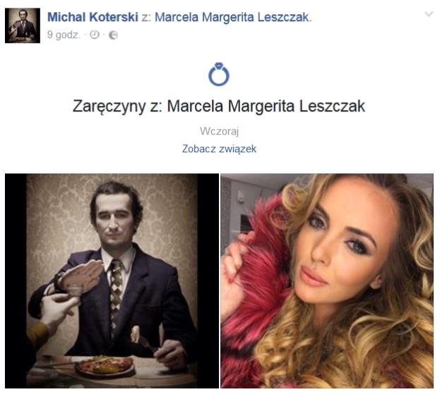 Upiększona Marcela Leszczak z Top Model zaręczona! (FOTO)