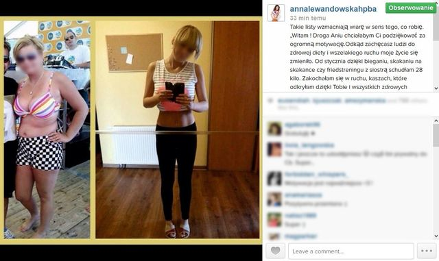 Lewandowska motywuje jak Chodakowska?