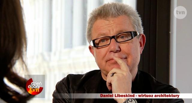 Kinga Rusin rozmawia z Danielem Libeskindem (VIDEO)