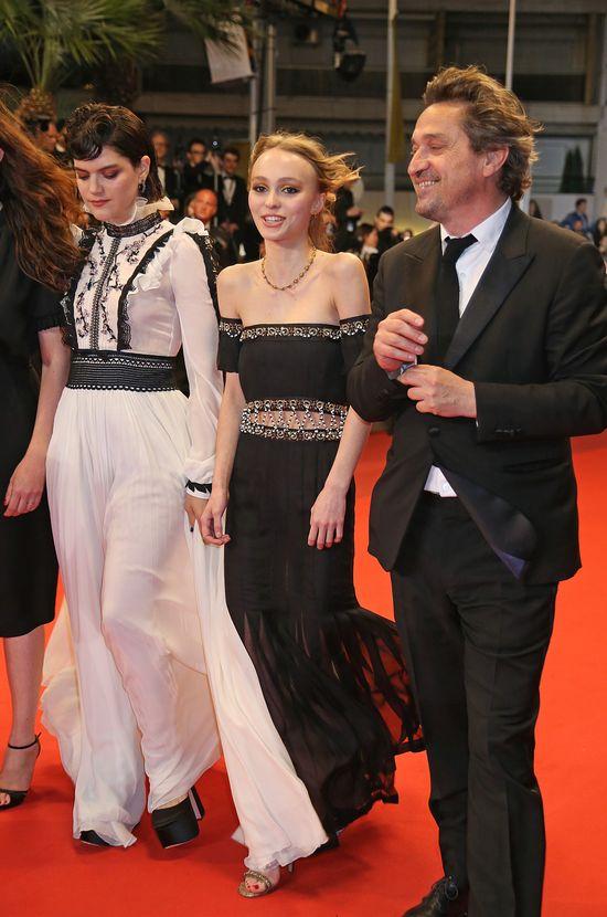 Lily-Rose Depp debiutuje na festiwalu filmwym w Cannes 2016