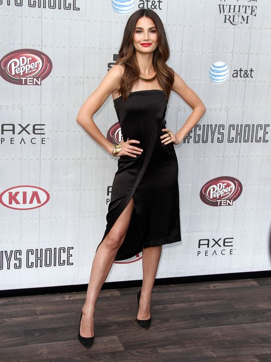 Modelki na gali The Spike TV Guys Choice Awards 2014 (FOTO)