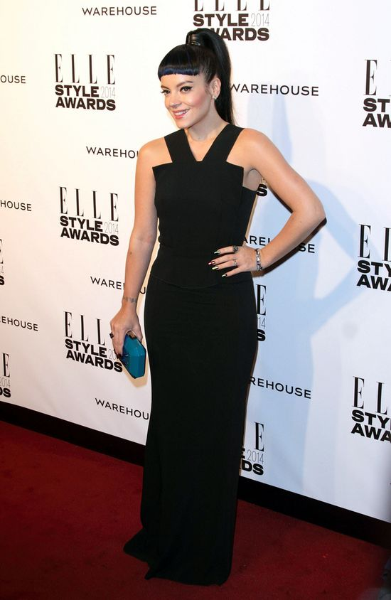 Elle Style Awards 2014 - Lily Allen