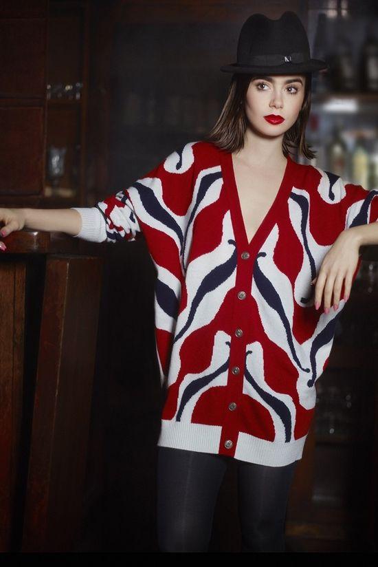 Lily Collins w obiektywie Karla Lagerfelda! (FOTO)