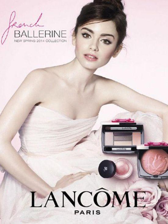 Lily Collins jako francuska baletnica Lancome (FOTO)