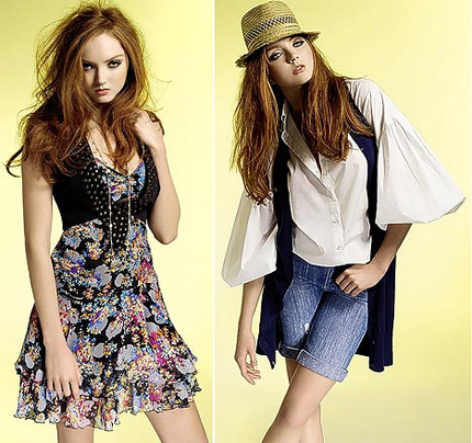 Lily Cole dla Marks & Spencer