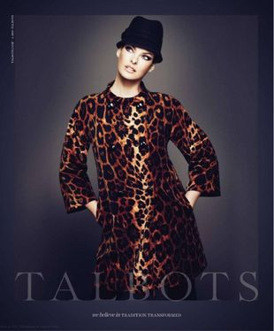 Linda Evangelista w kampanii Talbots