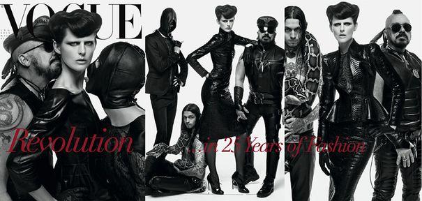 Sześć okładek na 25-lecie Vogue Italia