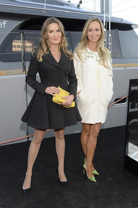 Hanna Lis i Joanna Przetakiewicz na pokazie LaMania (FOTO)
