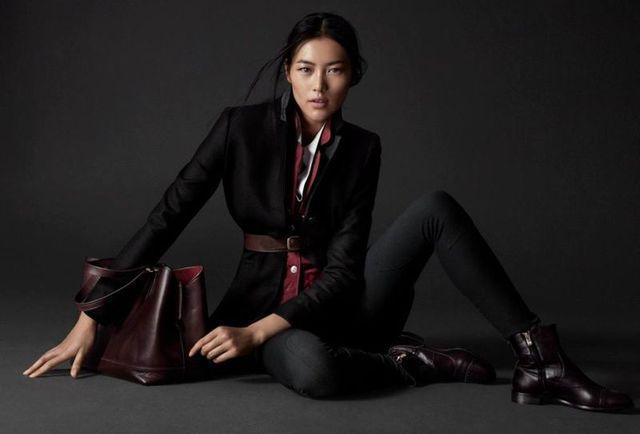 Czysta elegancja, czyli Liu Wen dla Massimo Dutti Equestrian