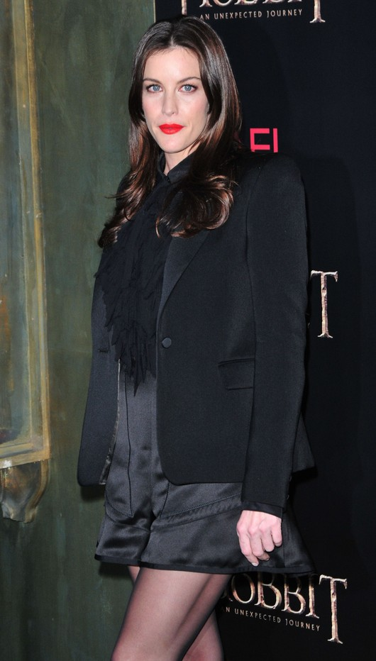 Liv Tyler na premierze Hobbita (FOTO)