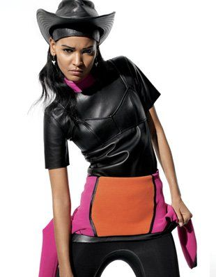 Liya Kebede w i-D Magazine