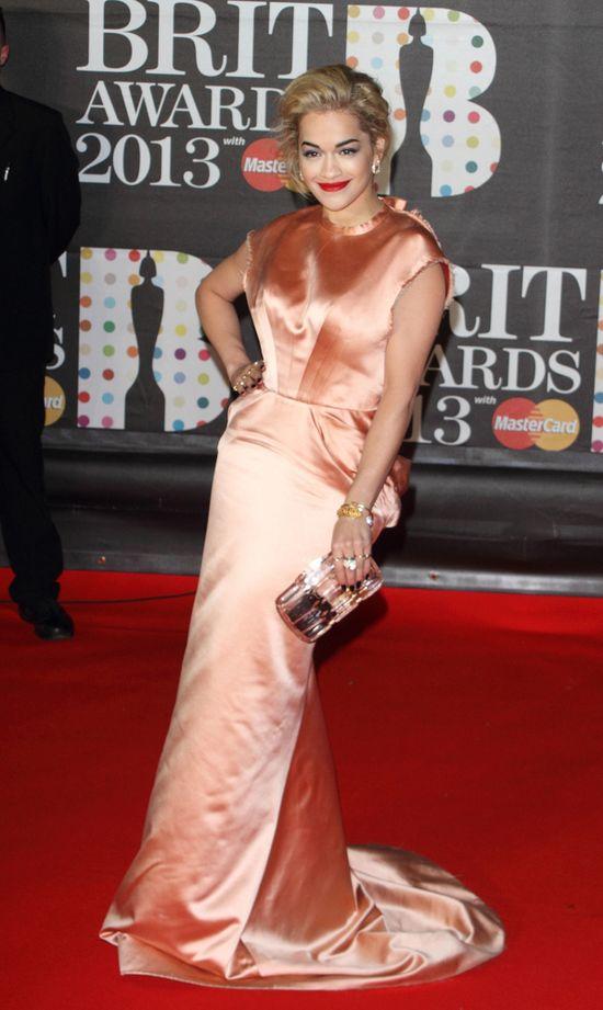 Gwiazdy na gali Brit Awards 2013 (FOTO)