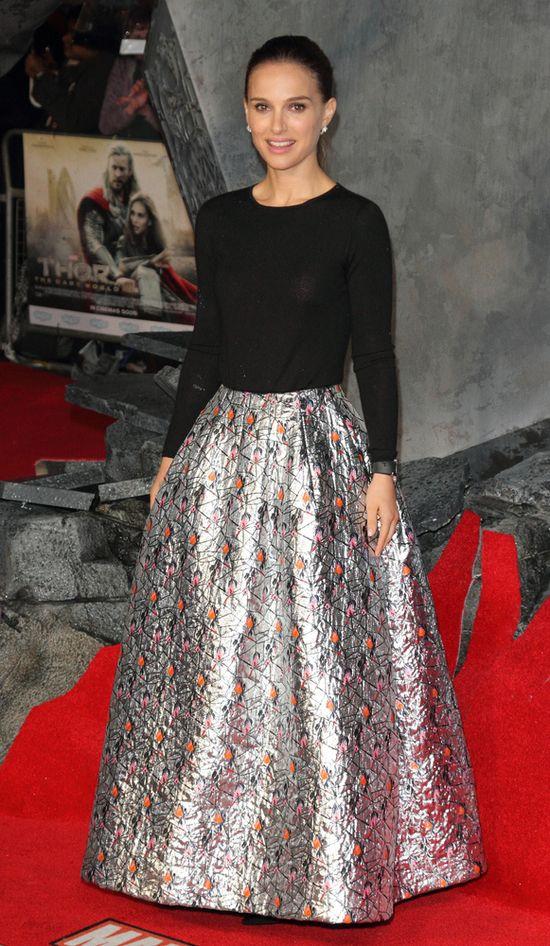 Natalie Portman w kreacji z wiosennej kolekcji Dior (FOTO)