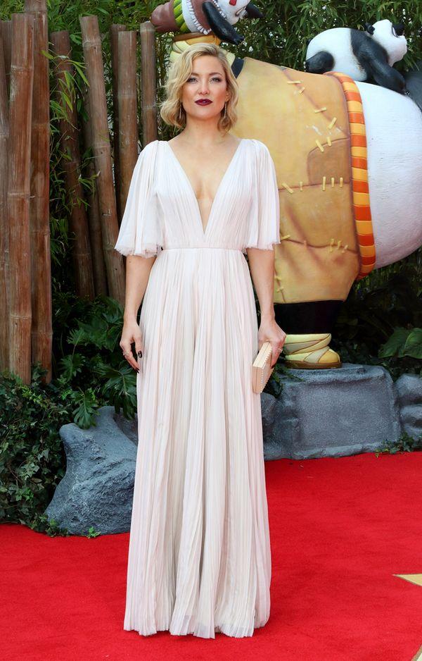 Kate Hudson zachwyca w zwiewnej sukni od J.Mendel (FOTO)