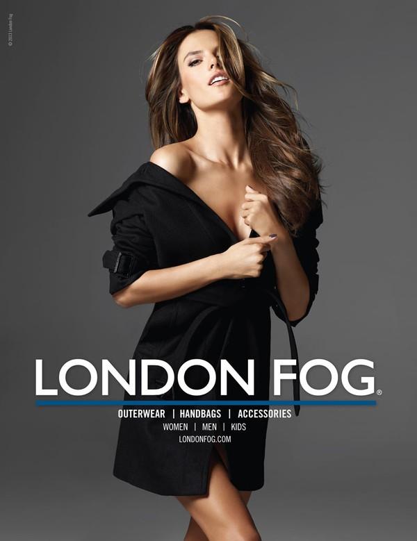 Alessandra Ambrosio raz jeszcze dla London Fog