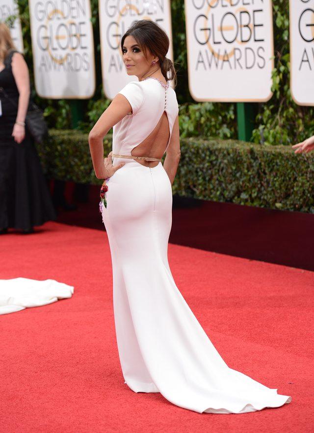 Eva Longoria zachwyciła na Złotych Globach (FOTO)