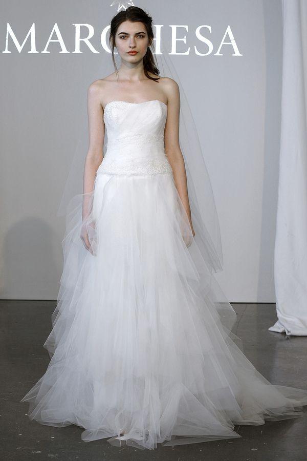 Marchesa - suknie ślubne na wiosnę 2015 (FOTO)